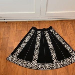 lapis cotton winter skirt